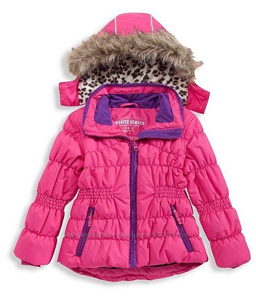 Замечательная лыжная курточка для девочек, размеры 92, 98