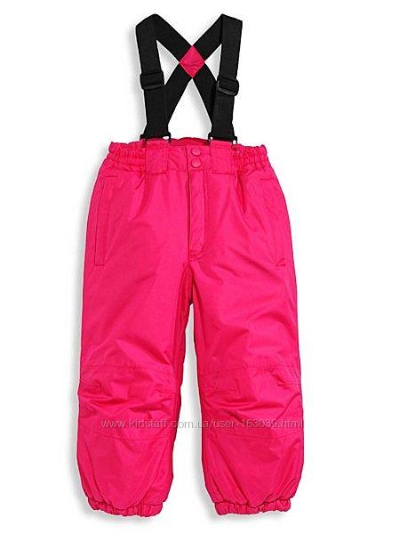 Зиминие лыжные теплые штаны для девочек с C&A, размер 92