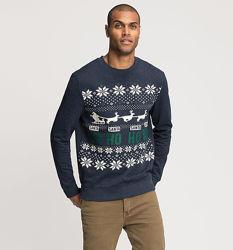 Рождественская толстовка - отличный подарок любому мужчине, размеры 2XL