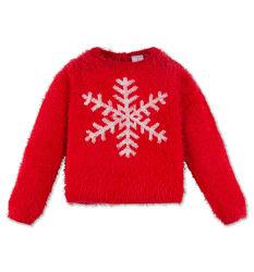 Зимний красивый мягкий свитерок для девочки с сайта C&A, р-р 116, маломерит