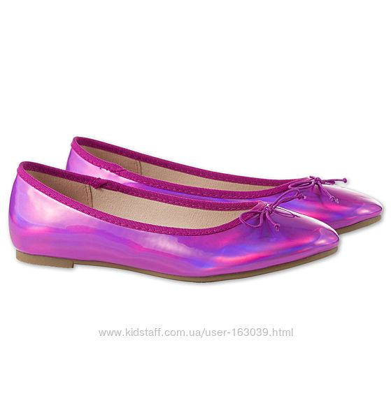 Изумительные лакированные туфельки принцессе с C&A, р-ры 33, 34, 35, 36