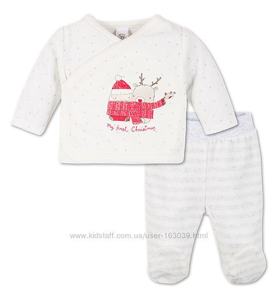 Рождественский комплект для малышей, суперкачество, Германия, р-р 68