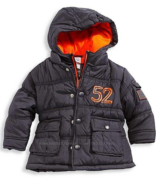 Тепленькая деми курточка для малышей с C&A, размер 80