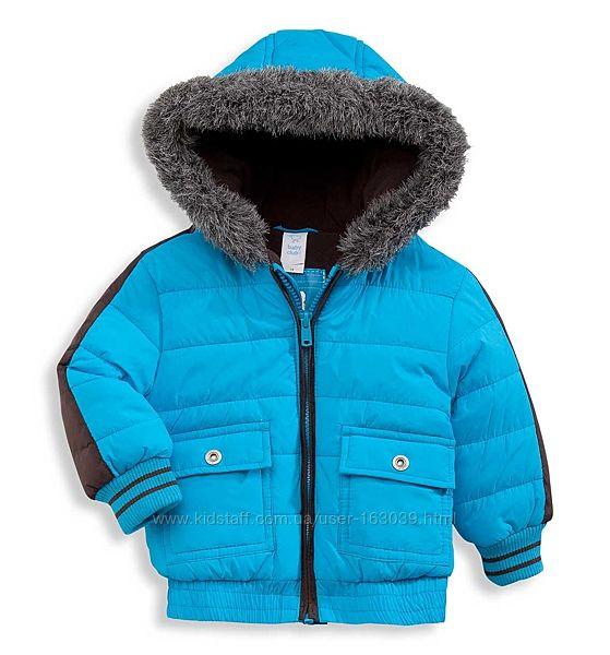Модная теплая демикуртка для мальчиков с C&A, размеры 74, 80