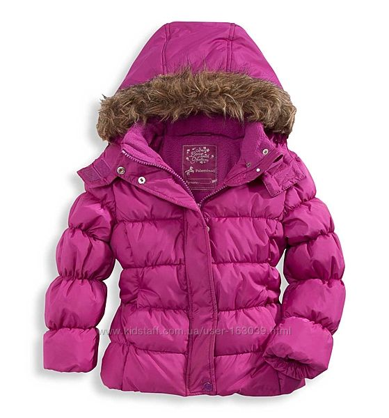 Хорошенькая тепленькая курточка для девочек C&A, размер 98