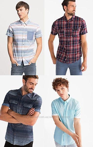 Немецкие летние хлопковые рубашки, привезены из Германии, все в наличии