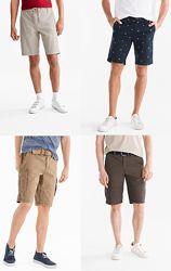 Фирменные шорты для мужчин, привезены из Германии, с сайта C&A, в наличии