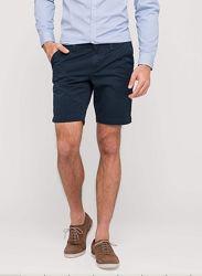 Плотные темно-синие коттоновые шорты из Германии с C&A, р-р XL