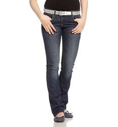 Темно-синие практичные джинсы с немецкого сайта C&A, р-р 152