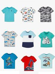 Немецкие фирменные хлопковые футболки для мальчишек с C&A, большой выбор