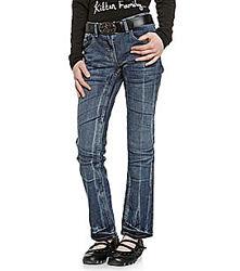 Классные немецкие джинсы с красивым ремнем из Германии с сайта C&A, р-р 152
