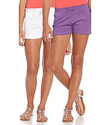Фиолетовые шортики для девочки 9-11 лет б-у в хорошем состоянии