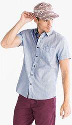 Классная хлопковая рубашка с немецкого сайта C&A, р-ры L, 2XL