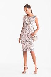 Нежно-розовое коттоновое платье из Германии с сайта C&A, р-р М