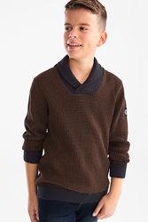 Хлопковый свитер с воротником хомут подросткам с C&A, р-ры 146-152, 170-176