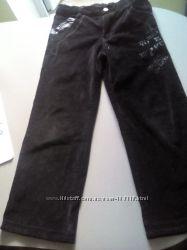 Вельветовые брюки 134 и 140 рост