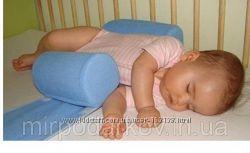 Подушка для новорожденных ограничитель - сделано качественно в Украине