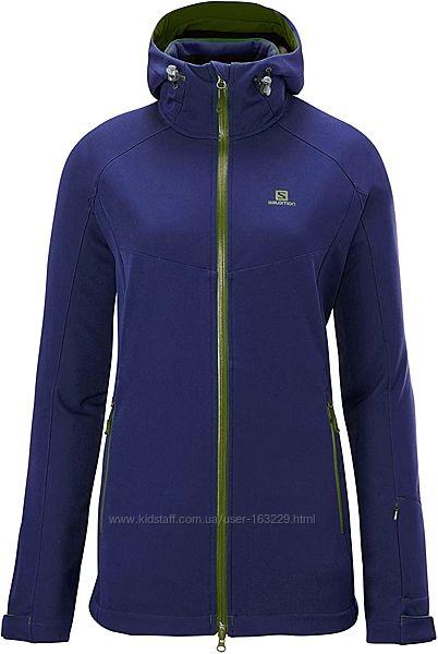 Лыжная курточка софтшел Salomon 3в1. М-L