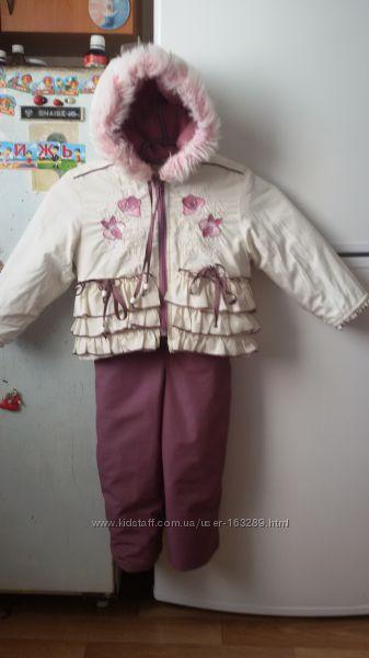 Красивый комбинезон MIRA для девочки  86 размер