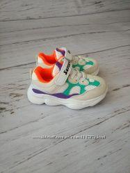 Кроссовки для девочек VIOLETA, 25-30 р, 200-32K white
