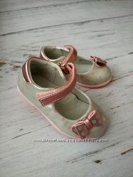 Туфли для девочек, размеры 20-25, с супинатором, Cказка R103 S