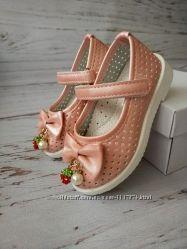 Туфли для девочек BBT, размеры 21-26, H1760-2