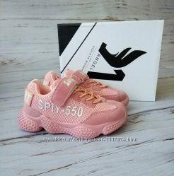 Кроссовки для девочек VIOLETA, 25-30р, 200-50K pink-white