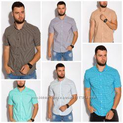 Мужская рубашка тенниска, размеры XS-XXXL, хлопок, 511F052