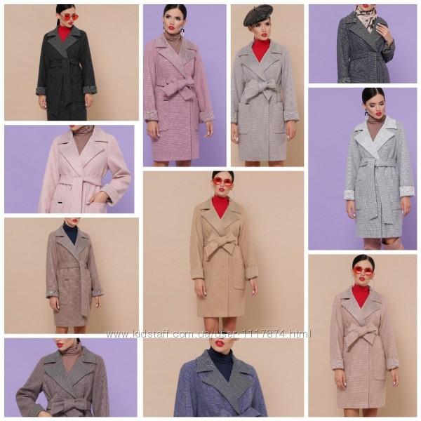 Демисезонное пальто, 42-54р, 75 шерсть, 25 полиэстер, П-347-М-90