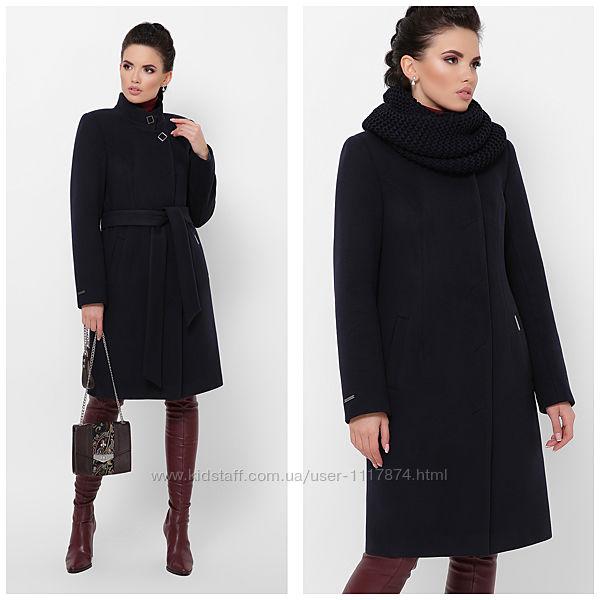 Женское зимнее пальто со снудом, 42, 44, 46р, П-372 З