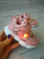 Светящиеся кроссовки для девочек Bbt, 22-27р, H3329