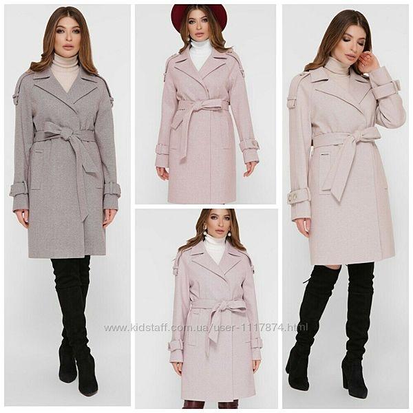 Демисезонное женское пальто, 42-50р, Пм-129