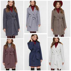Демисезонное женское пальто, 42-52р, Пм-111