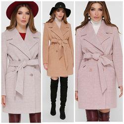 Демисезонное женское пальто 42-54р, Пм-132