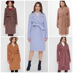 Демисезонное женское пальто, 42-54р, Пм-125