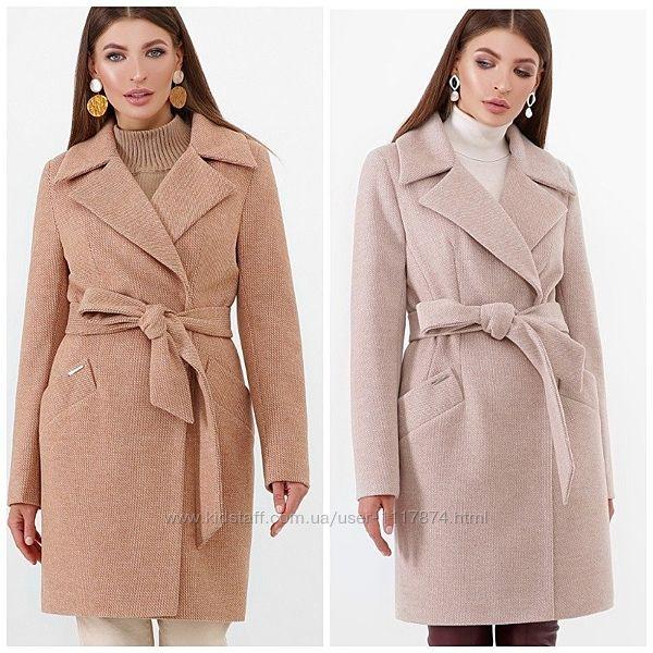 Женское демисезонное пальто, 42-50р, Пм-100