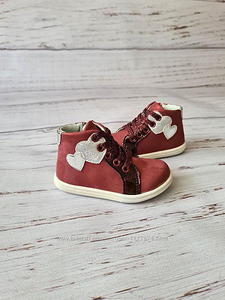 Ботинки для девочек Clibee, 20-24р, P365 wine