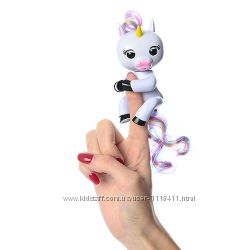 Единорог интерактивный на палец аналог Fingerlings Happy Unicorn