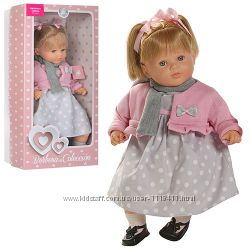 Кукла BERBESA Испания 52 см мягконабивная звук на батарейке в коробке