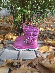 Зимние ботинки р24, 25 для девочки ТМ Солнце в наличии