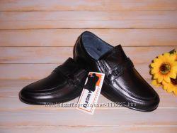 Туфли кожаные р31-36 школьные классические для мальчика ТМ Kangfu в наличи