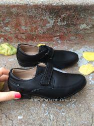 Туфли том. м школьные р27, 28, 30, 31 черного цвета
