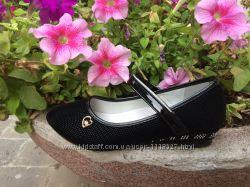 Туфли школьные для девочки р35, 37 черного цвета ТМ W. niko