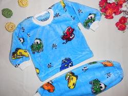 Пижамы велсофт р92, 98, 104 для мальчика, отличное качество