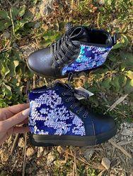 Демисезонные ботинки р27-29 для девочки, хит осени 2020