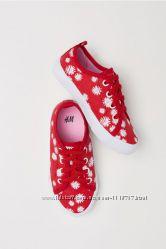 Классные красные кеды H&M р. 26