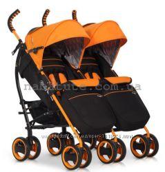 Детская прогулочная коляска для двойни Easy Go Duo Comfort