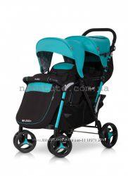 Детская прогулочная коляска для двойни Easy Go Fusion Duo