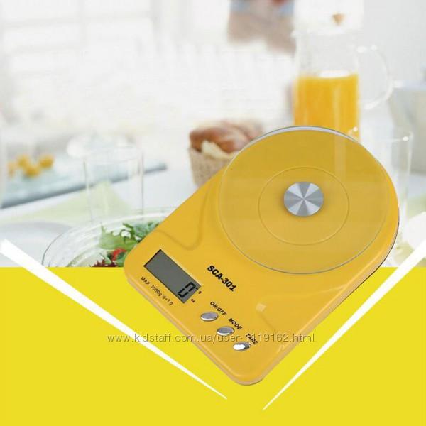 Весы кухонные SCA-301 7 кг 1г