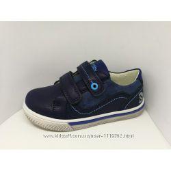 Качественные кожаные ботинки туфли Clibee на мальчика, 27-32р